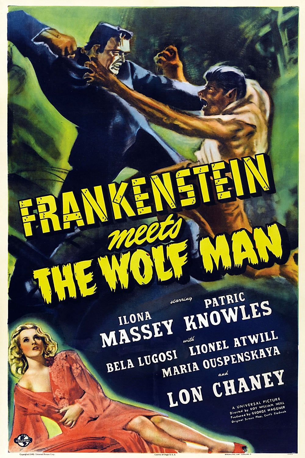 Frankenstein Meets the Wolfman (1943)