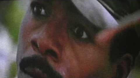 "Carl Weather's death in ""Predator""."