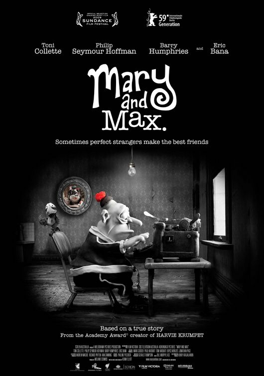 Mary and Max (2009; animated)