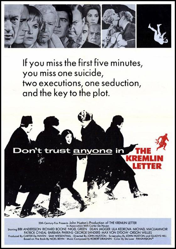 The Kremlin Letter (1970)