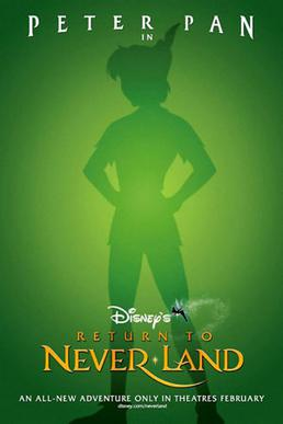 Return to Never Land (2002; animated)