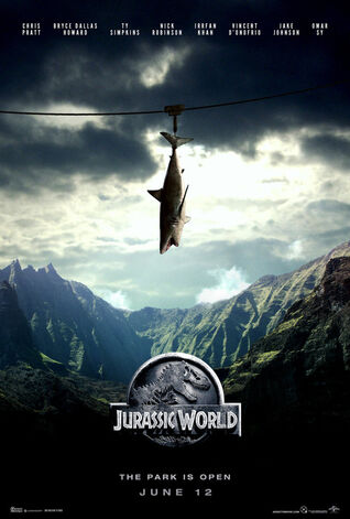 Jurassic world fan art poster by addictomovie-d8a1hpf.jpg