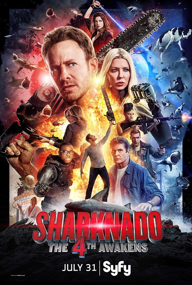 Sharknado 4: The 4th Awakens (2016 TV)