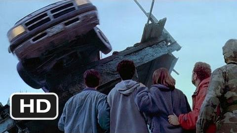 Dante's Peak (8 10) Movie CLIP - The Bridge is Destroyed (1997) HD