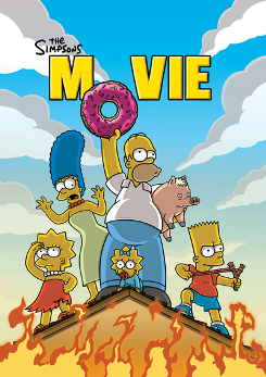 The Simpsons Movie (2007; animated)