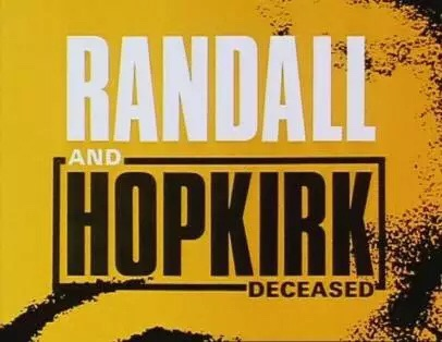 Randall and Hopkirk (Deceased) (1969 series)