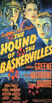 The Hound of the Baskervilles - 1939- Poster.png