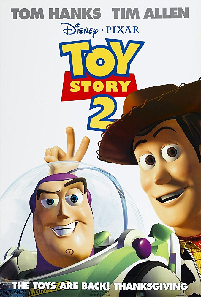Toy Story 2 (1999; animated)