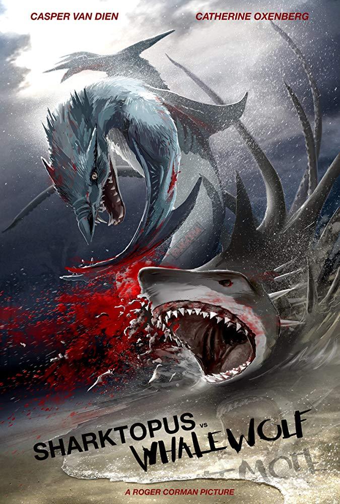 Sharktopus vs Whalewolf (2015 TV)