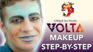 Stunning Free Spirit Makeup Step by Step Tutorial from our newest show VOLTA! Cirque du Soleil