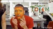 TOTEM Artist Makeup Application by Cirque du Soleil