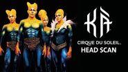 Headscan Process for KÀ by Cirque du Soleil KÀ Behind the Blockbuster