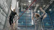 Learning to Slackline Cirque Du Soleil- VOLTA