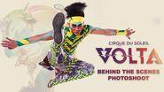 Behind the Scenes of VOLTA Sneak Peek Backstage Photoshoot Cirque du Soleil