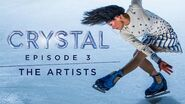 Meet the Figure Skaters and Artists Backstage at CRYSTAL Gliding Higher Ep 3 Cirque du Soleil