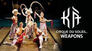 Weapons in KÀ by Cirque du Soleil KÀ Behind the Blockbuster