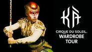 Wardrobe Tour at KÀ by Cirque du Soleil KÀ Behind the Blockbuster