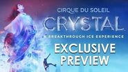 EXCLUSIVE preview of CRYSTAL Cirque du Soleil's *NEW* Show - ON ICE