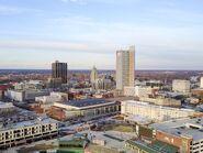 Skyline Aerial Parkview Field photo-Visit-Fort-Wayne