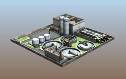 Mod Guide Water Plant Model