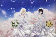 Yuzu and Mei ~Beautiful Wedding Art~