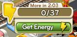 Empty Energy bar