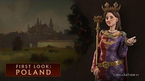 Civilization VI – Польша. Первый взгляд (англ).