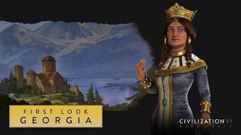 Civilization VI Rise and Fall – Грузия. Первый взгляд (англ