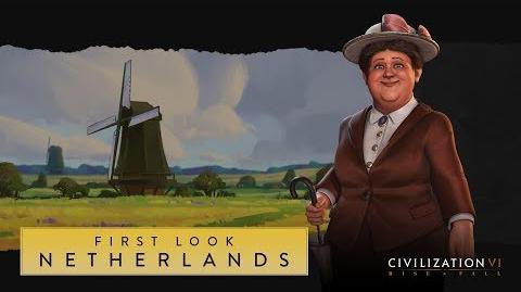 Civilization VI Rise and Fall – Нидерланды. Первый взгляд (англ