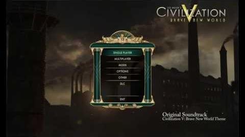 Civilization V Brave New World OST - Brave New World Theme (Opening Menu Music)