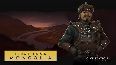 Civilization VI Rise and Fall – Монголия. Первый взгляд (англ).