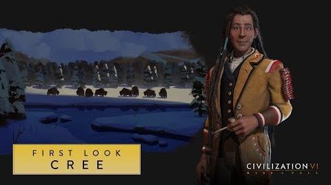 Civilization VI Rise and Fall – Кри. Первый взгляд (англ).