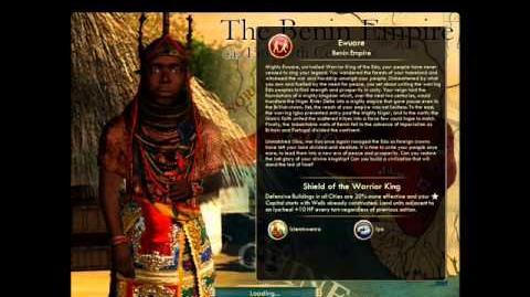 Benin - Ewuare Peace
