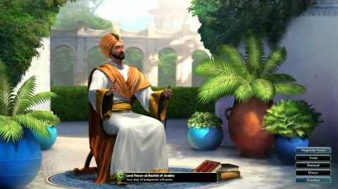 Civilization V OST - Harun al-Rashid War Theme - Thikriati; Hijaz Maqam