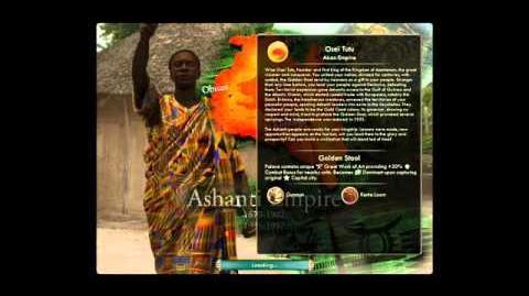 Ashanti - Osei Tutu - War