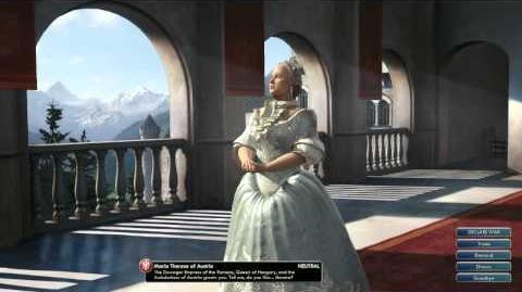 Civilization V OST Maria Theresa Peace Theme Requiem Mass in D minor, Still Still Still