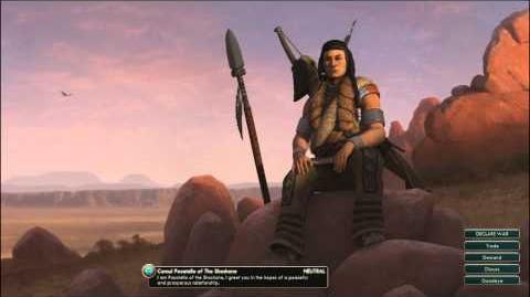 Civilization V OST - Pocatello Peace Theme - Shoshone Sun Dance Songs