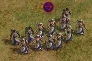 Archer in-game (Civ5)