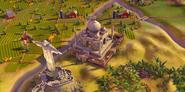 Taj Mahal in-game (Civ6)