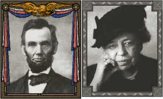 Abraham Lincoln and Eleanor Roosevelt (Civ2).png