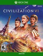 Civilization 6 for XBOX ONE boxart (Civ6)