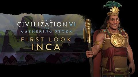 Civilization VI Gathering Storm - First Look Inca