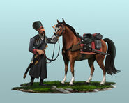 Civ 6 Cossack concept art