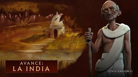 CIVILIZATION VI - AVANCE LA INDIA