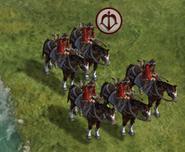 Horse Archer in-game (Civ5)