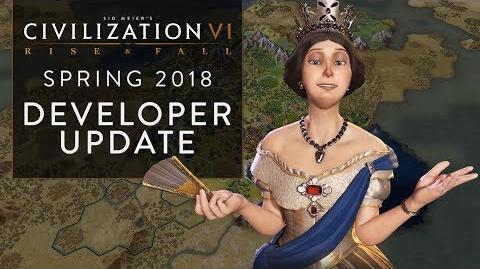 Civilization VI: Rise and Fall May 2018 Update