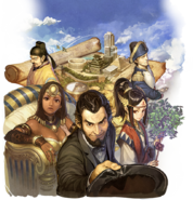 Civilization Revolution 2 Plus Japanese key art