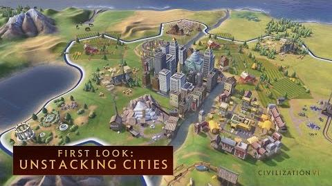 CIVILIZATION VI - First Look- Unstacking Cities