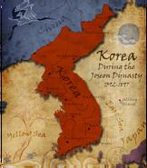 Korea map (Civ5)