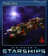 Steam trading card small Purity Ship (Starships)